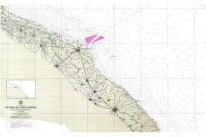 Carte Italie Et Sardaigne.Carte Marine Italie Sardaigne Corse Est Da Torre Dell Orso A